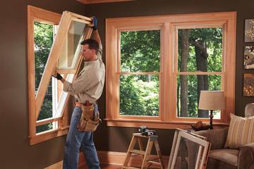 Сервисное обслуживание деревянных окон